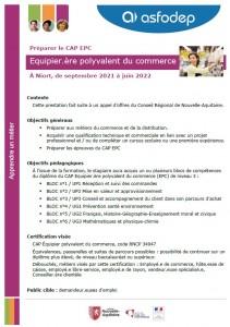Essentiel CAP EPC 2021